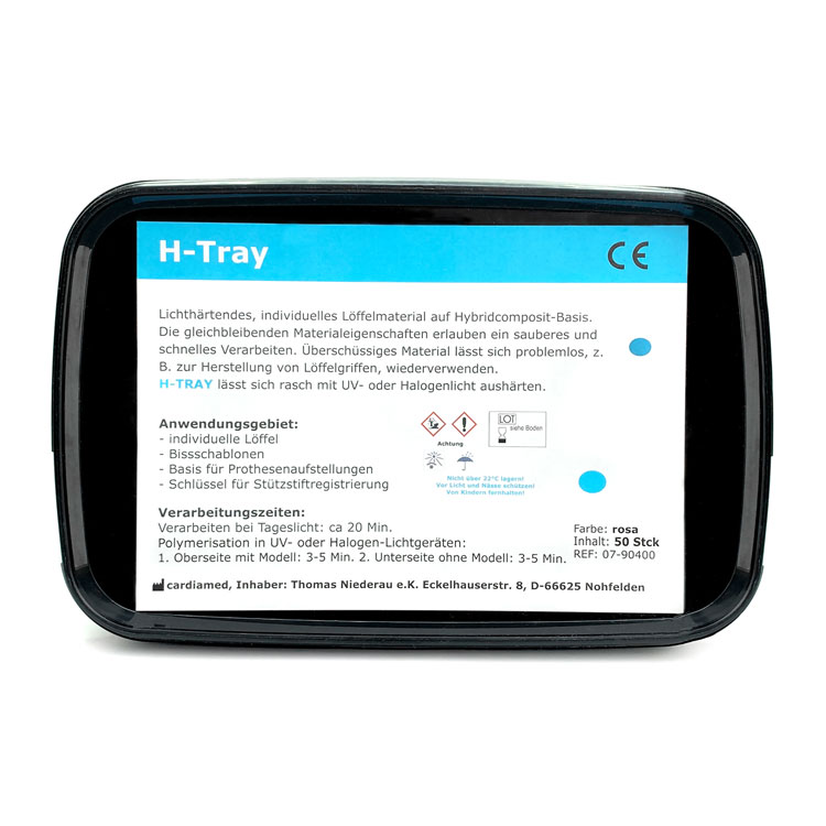 H-Tray Löffelmaterial